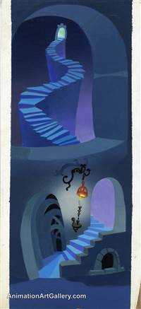 Concept Piece from The Grinch Grinches the Cat in the Hat