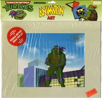 Production Cel of Donatello from Teenage Mutant Ninja Turtles