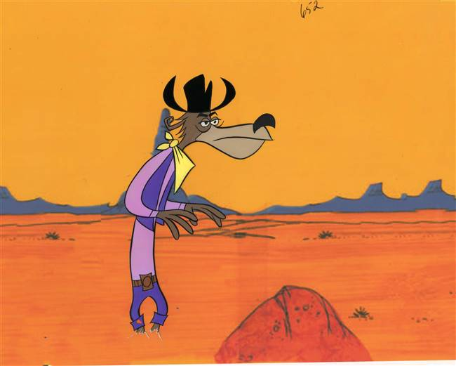 Original production cel of Slim from Deputy Droopy (1955)