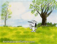Production Cel of Snoopy - PNCCS41