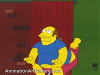 Production Cel of the Comic Book Guy (aka. Jeff Albertson) from Worst Episode Ever