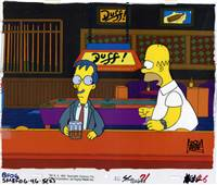 Original Production Cel Homer Simpson From Lisa's Pony