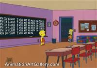 Key Master Set-up of Bart Simpson and Lisa Simpson from Grift of the Magi