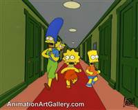 Key Master Set-up of Marge Simpson and Bart Simpson from Treehouse of Horror V