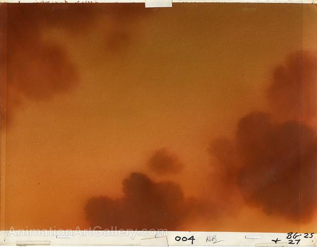 Original Production Master Background from the Secret of NIMH