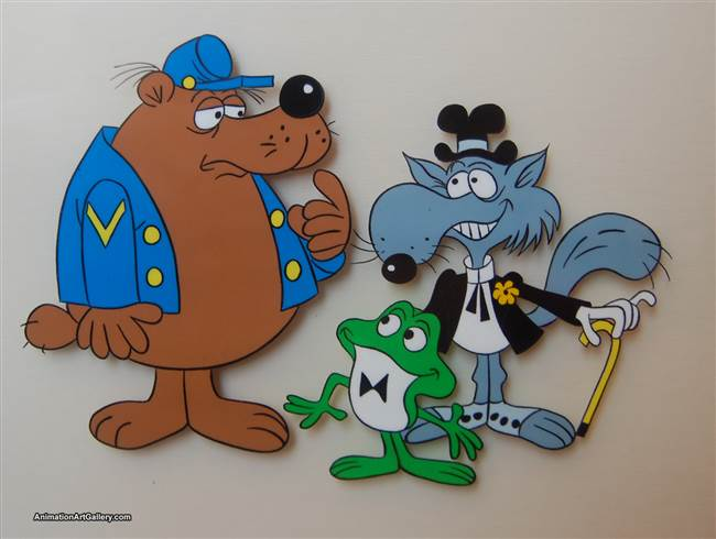 Publicity Cel of Hoppity Hooper and Uncle Waldo from Universal Studios