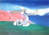 Production Cel of Bugs Bunny from My Bunny Lies over the Sea