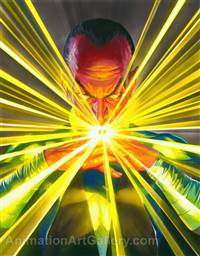 Mythology: Sinestro (paper)