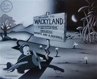 Limited Edition Cel: Welcome to Wackyland