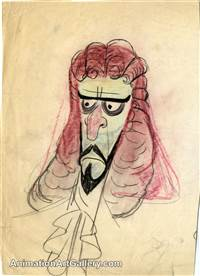 Concept Piece of Captain Hook from Peter Pan
