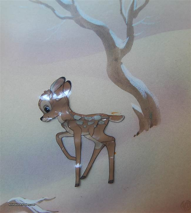 Courvoisier Cel of Bambi from Bambi
