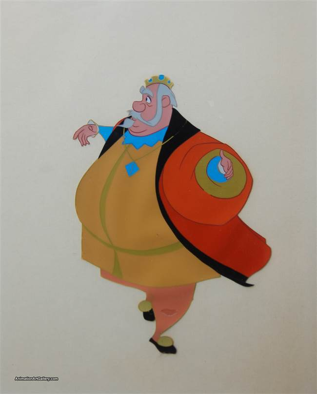 Production Cel of King Hubert from Sleeping Beauty