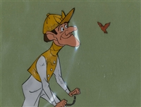 Original Disneyland Cel Set-up of a Jockey from Mary Poppins (1964)