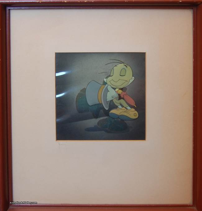 Courvoisier Cel of Jiminy Cricket from Pinocchio