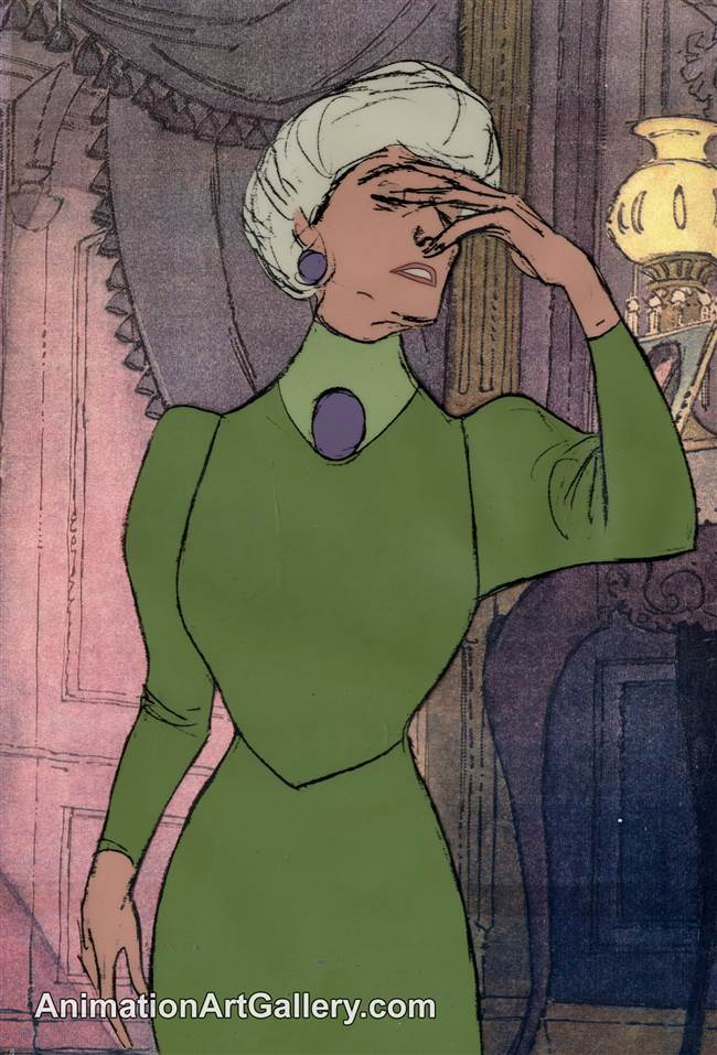 Production Cel of Madame Bonfamille from The Aristocats