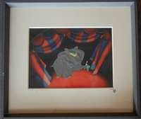 Original Courvoisier Cel of Dumbo from Dumbo