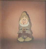 Original Production Cel of Sneezy from Snow White and the Seven Dwarfs (1937)
