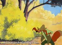 Production Cel of Brer Fox from Song of the South