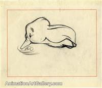 Storyboard of Dumbo from Dumbo