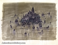 Layout Drawing of Atlantis from Atlantis: The Lost Empire