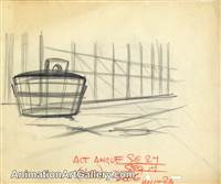 Production Drawing from Dumbo