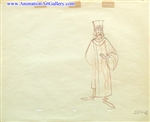 Production Drawing of King Stefan from Sleeping Beauty