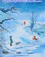 Winter In The 100 Acre Wood