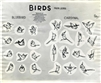 Photostat of some birds from Sleeping Beauty