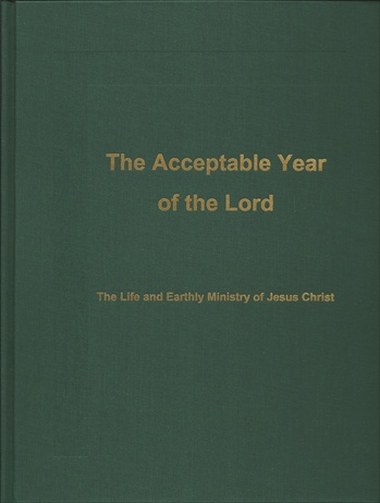 "<span style=""font-size: 14pt; color: rgb(0, 0, 0);"">The Acceptable Year of the Lord</span>"