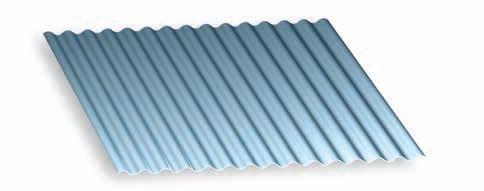 Galvanized Metal Roofing Sheet 26GA Corrugated 25 Profile