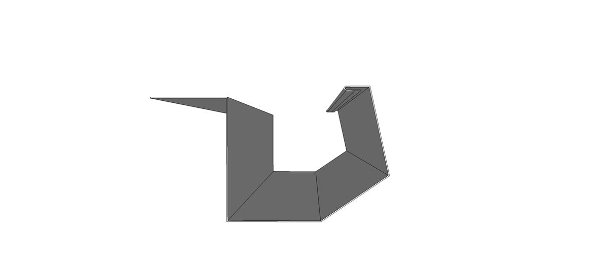 Sculptured Gutter 10 Gator Carports