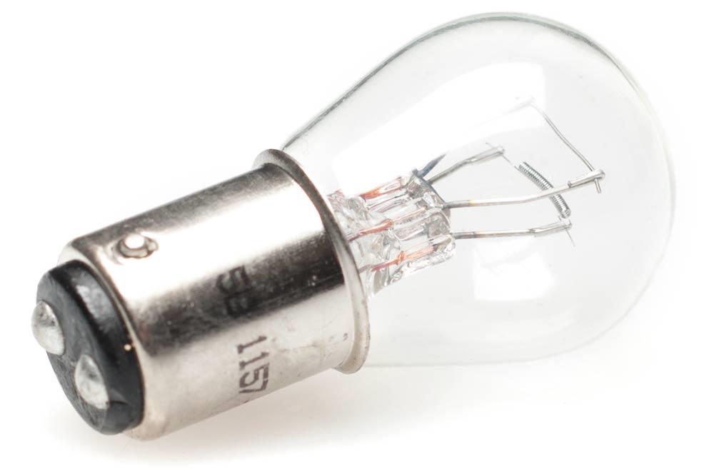 12v Light Bulbs : Dual filament v moped light bulb