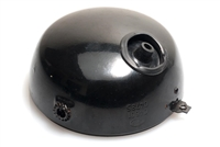 Round Black CEV Head Light Bucket
