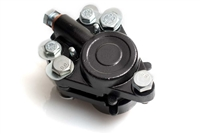 Black Front Moped Disc Brake Caliper