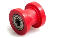 Universal Moped Red Drive Chain Tension Roller