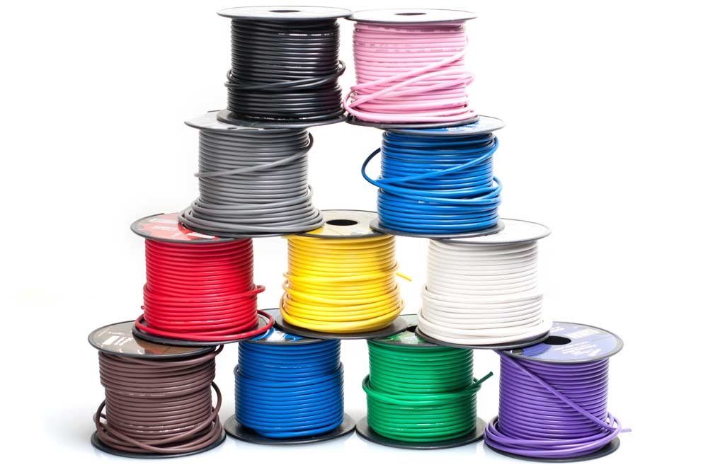 Gauge Moped Electrical Wire - By the Foot - Pick Your Color