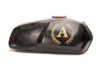 Black & Gold General Five Star Moped Gas Tank