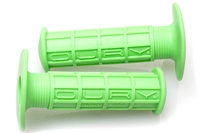 Green OURY MX Moped Grips