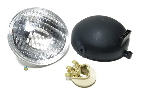 moped headlight rebuild kit or conversion kit for sealed beam
