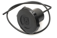 Motobecane Moped Black Plastic Gas Cap