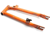 Used Orange Motobecane 50v Moped Swingarm