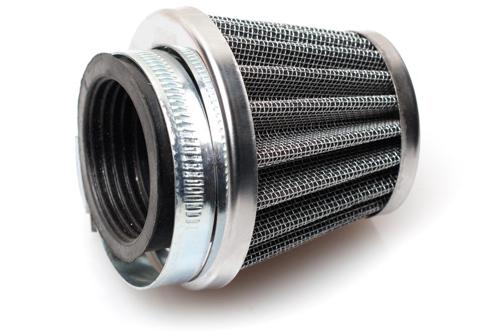 Mikuni Air Cleaner : Mikuni vm tm cone shaped mesh air filter mm
