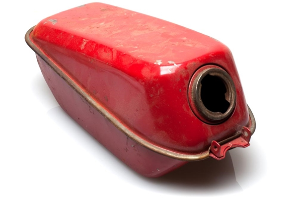 Used Red Puch Murray Moped Gas Tank