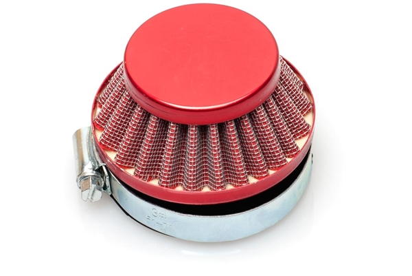 Dellorto SHA 60mm Shorty Air Filter - Red