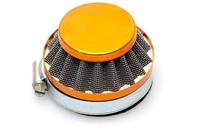 Dellorto SHA 60mm Shorty Air Filter - Yellow