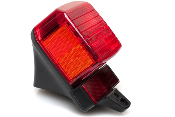 Universal Sqaureish Moped Tail Light