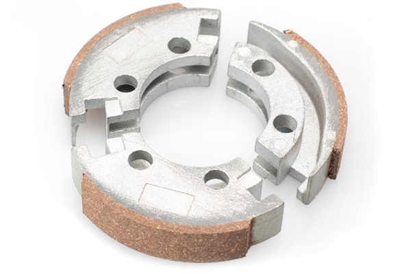 Clutch Pad Material : Tomos a st gear clutch pad set