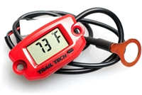 Trail Tech TTO Temperature Gauge - Red