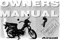 Free Garelli Avanti Step-Through Moped Manuals