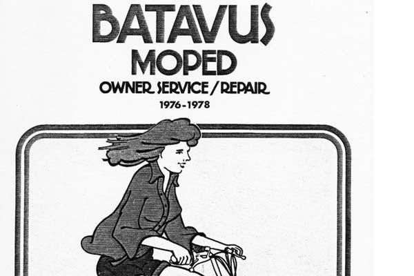 free batavus moped clymer service and repair manual